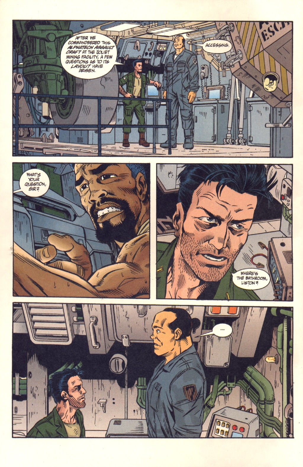 Read online Aliens: Colonial Marines comic -  Issue #8 - 4