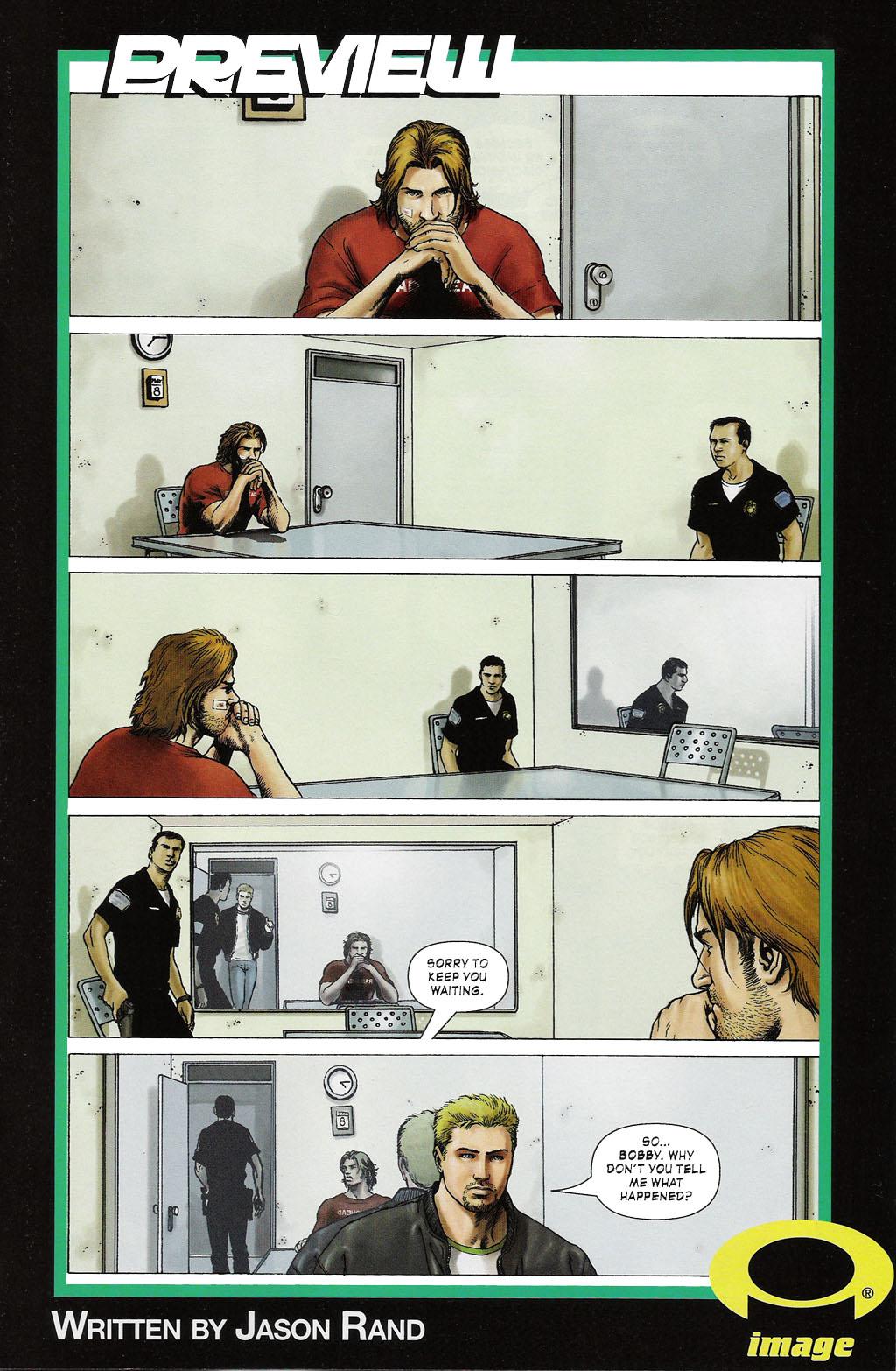 Read online ShadowHawk (2005) comic -  Issue #2 - 27
