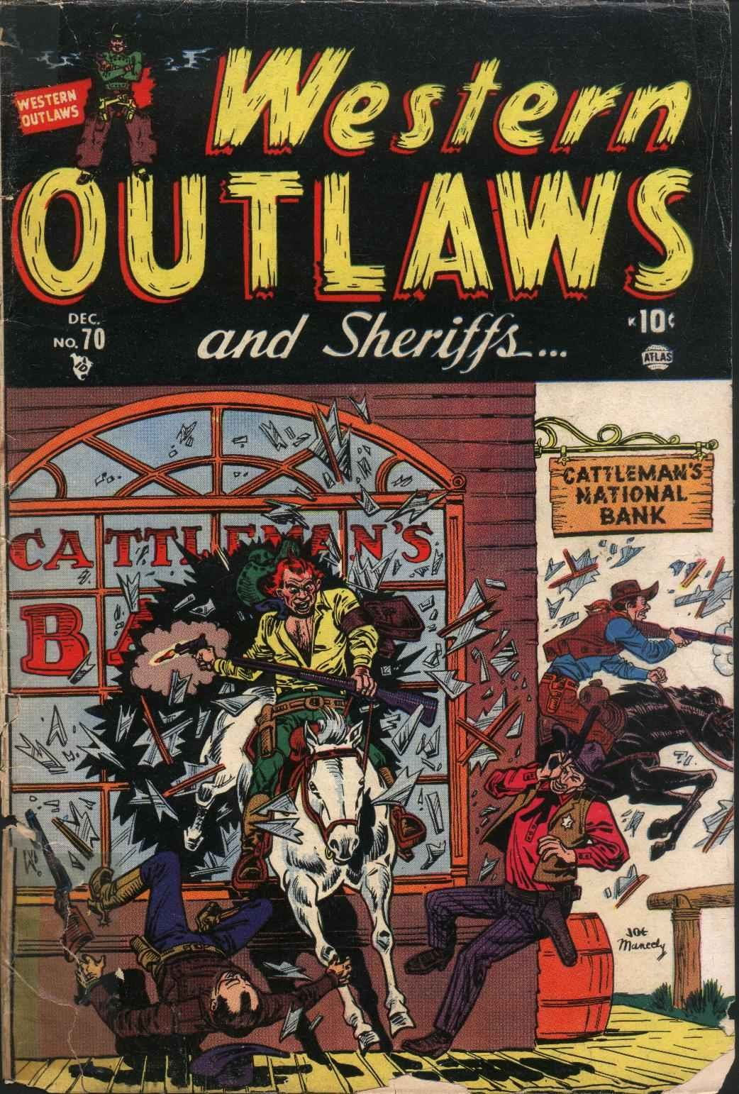 Western Outlaws and Sheriffs 70 Page 1