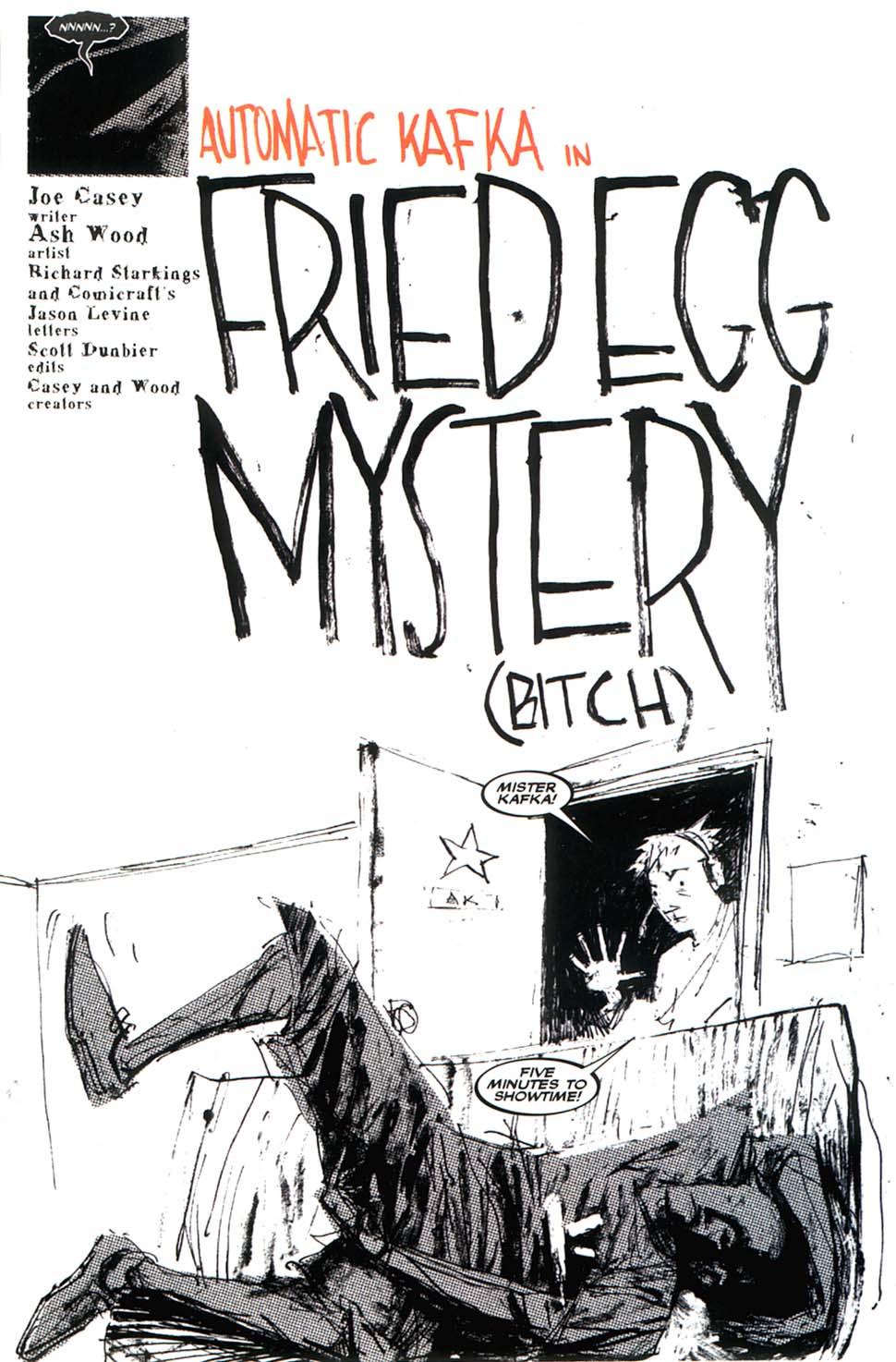 Read online Automatic Kafka comic -  Issue #8 - 7