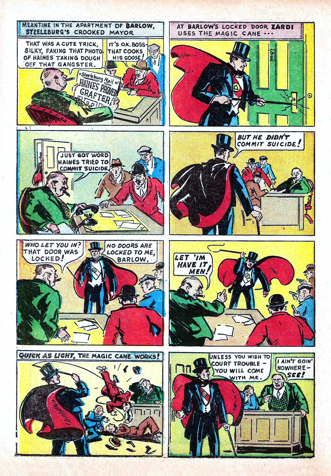 Read online Amazing Man Comics comic -  Issue #11 - 42