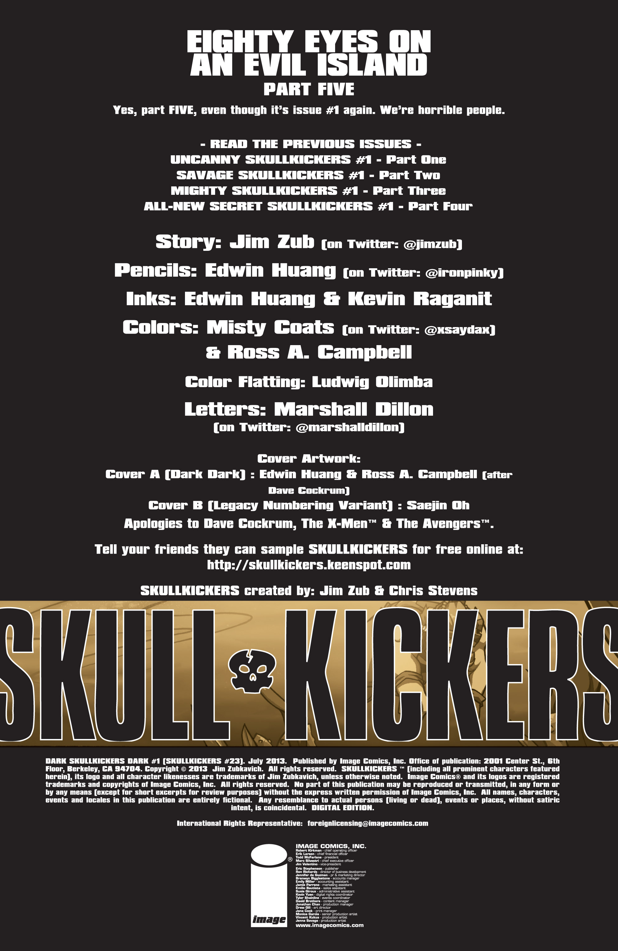 Read online Skullkickers comic -  Issue #23 - 2