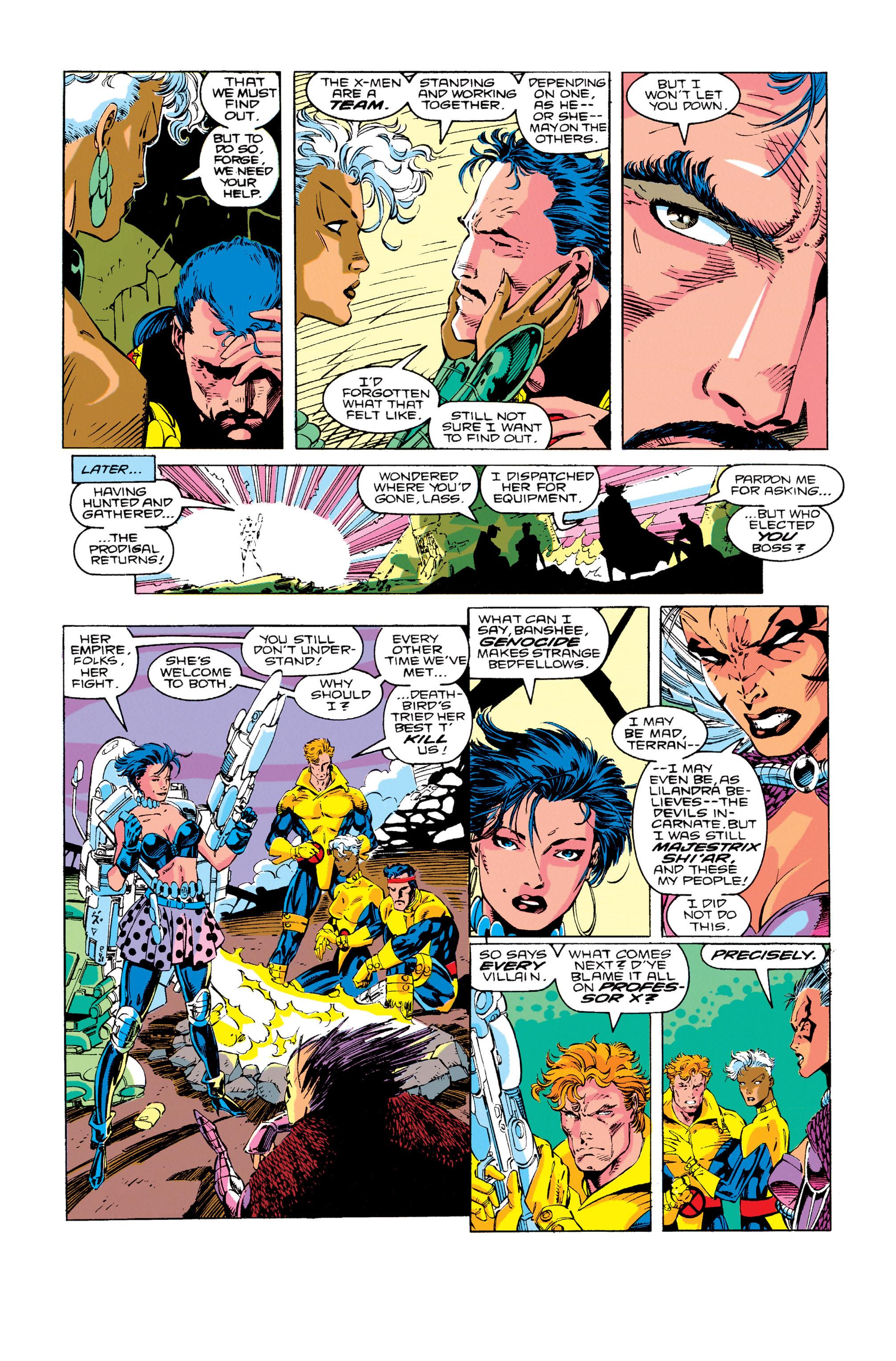 Read online Uncanny X-Men (1963) comic -  Issue #276 - 17