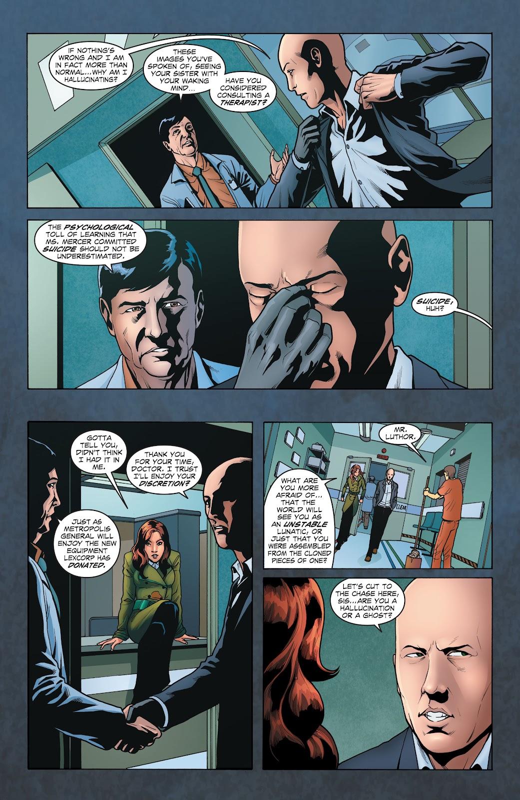 Read online Smallville Season 11 [II] comic -  Issue # TPB 1 - 40