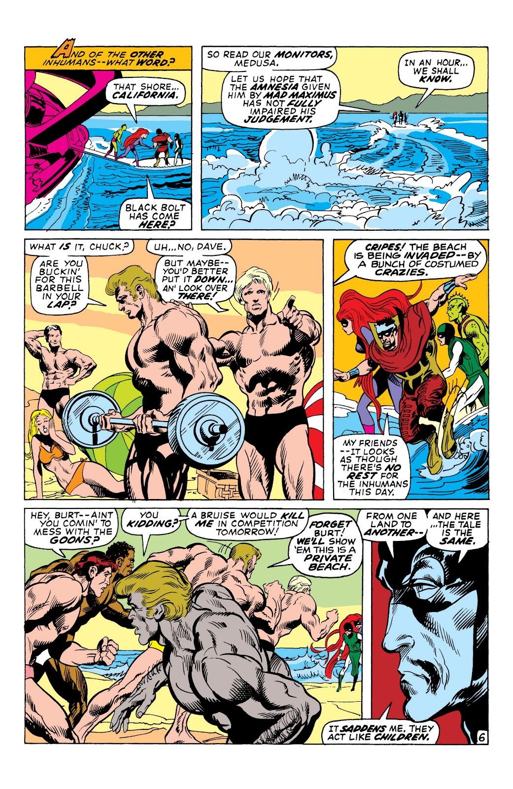 Read online Marvel Masterworks: The Inhumans comic -  Issue # TPB 1 (Part 2) - 41