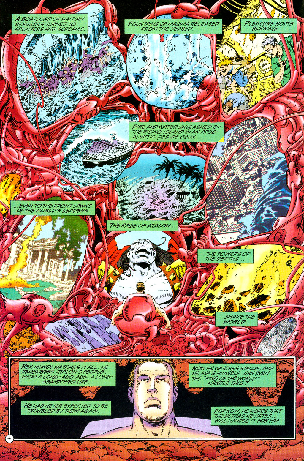 Read online UltraForce (1994) comic -  Issue #3 - 5