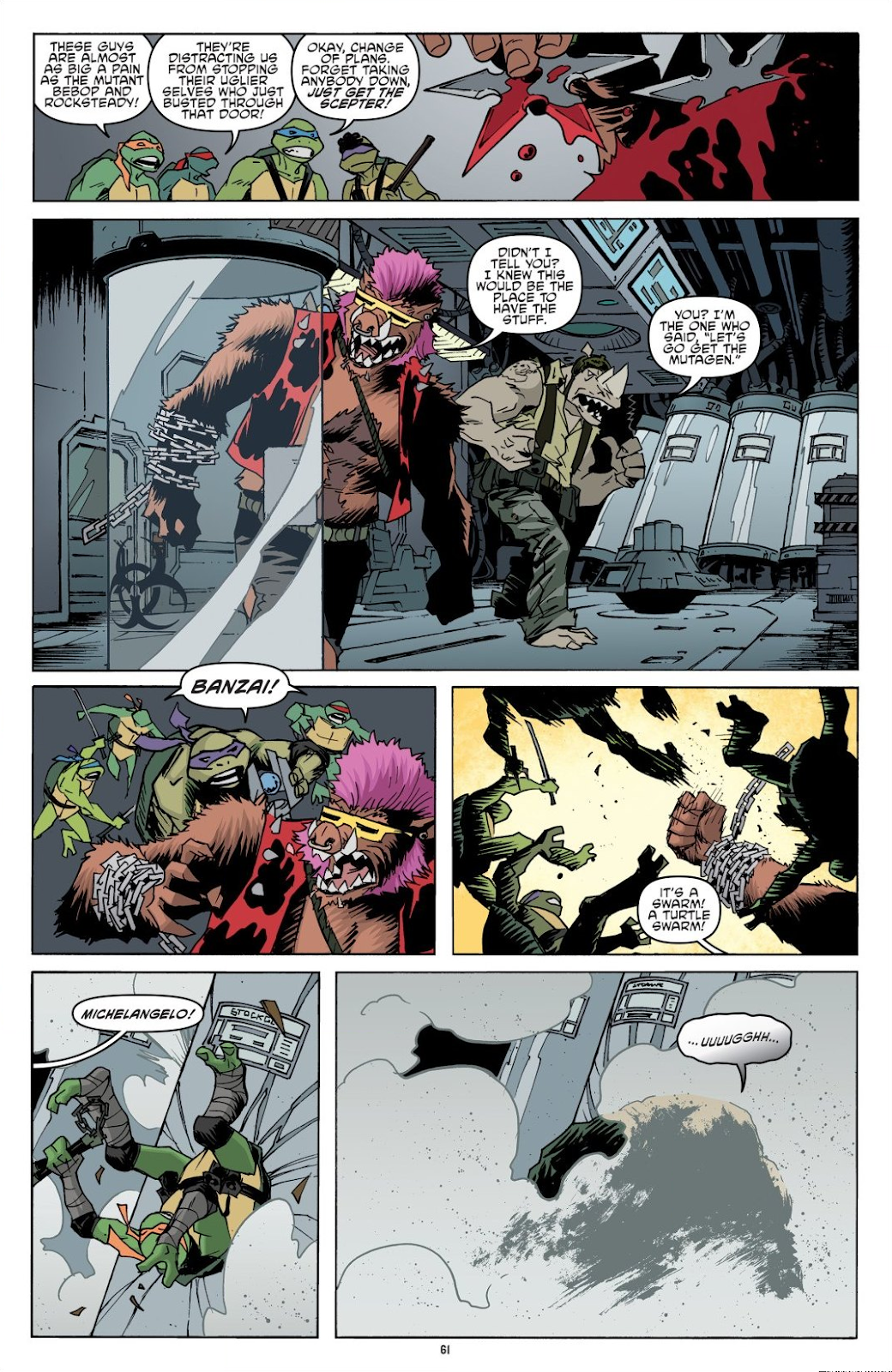 Read online Teenage Mutant Ninja Turtles: The IDW Collection comic -  Issue # TPB 8 (Part 1) - 61