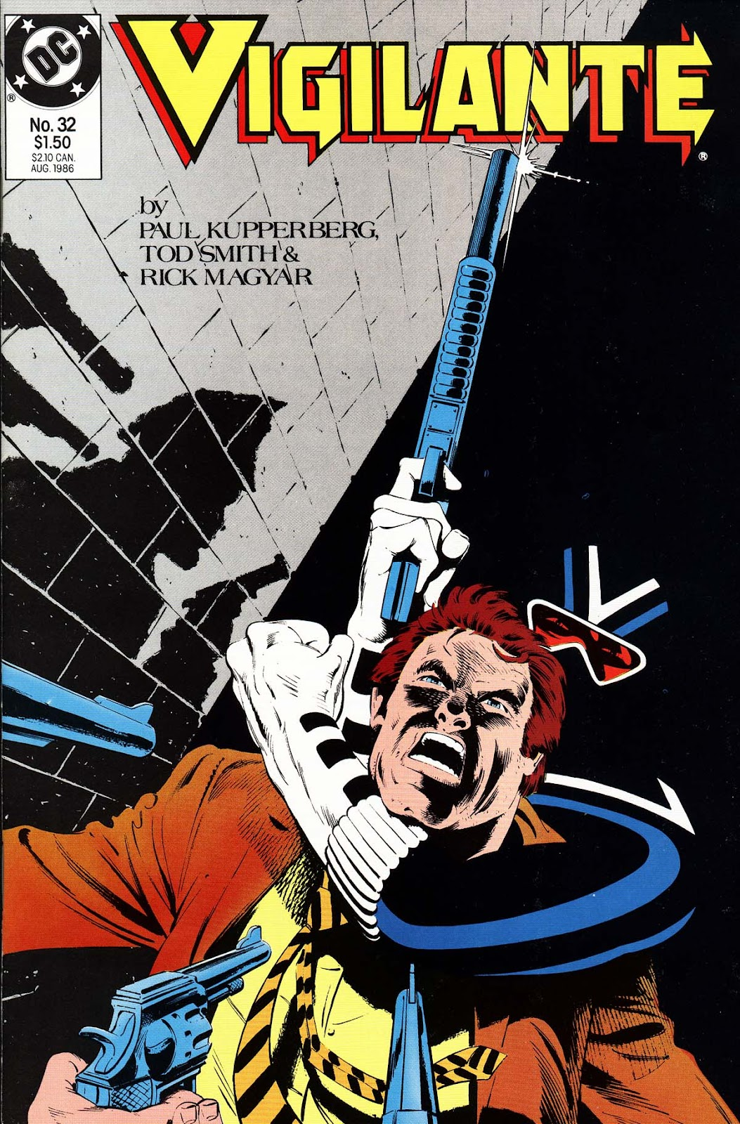 Vigilante (1983) issue 32 - Page 1