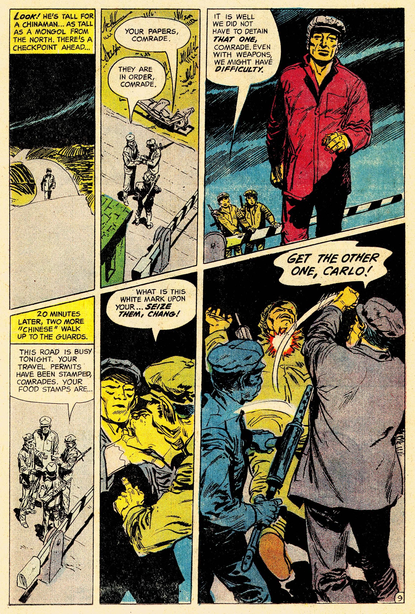 Read online Secret Six (1968) comic -  Issue #4 - 13