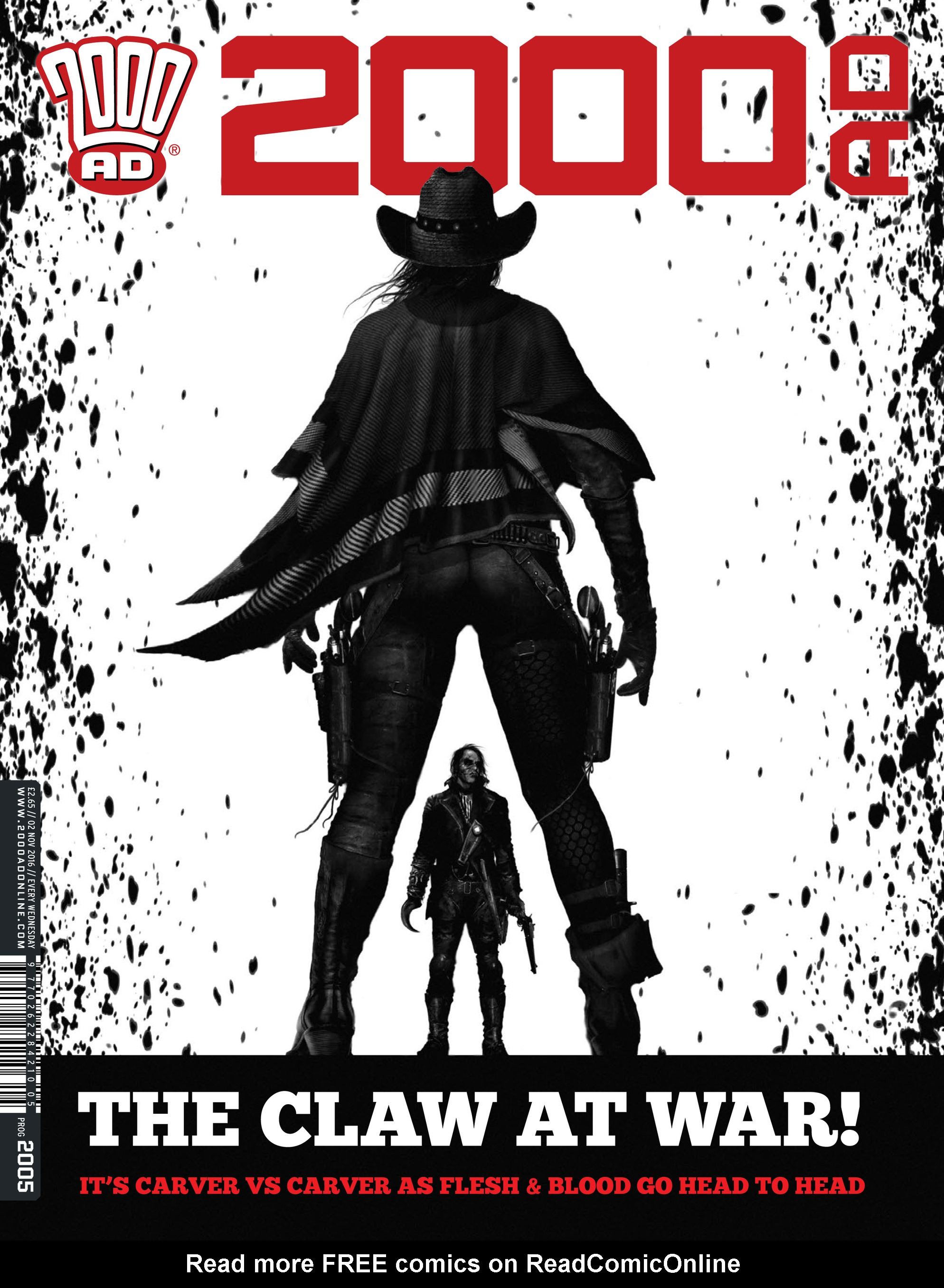 Read online 2000 AD comic -  Issue #2005 - 1