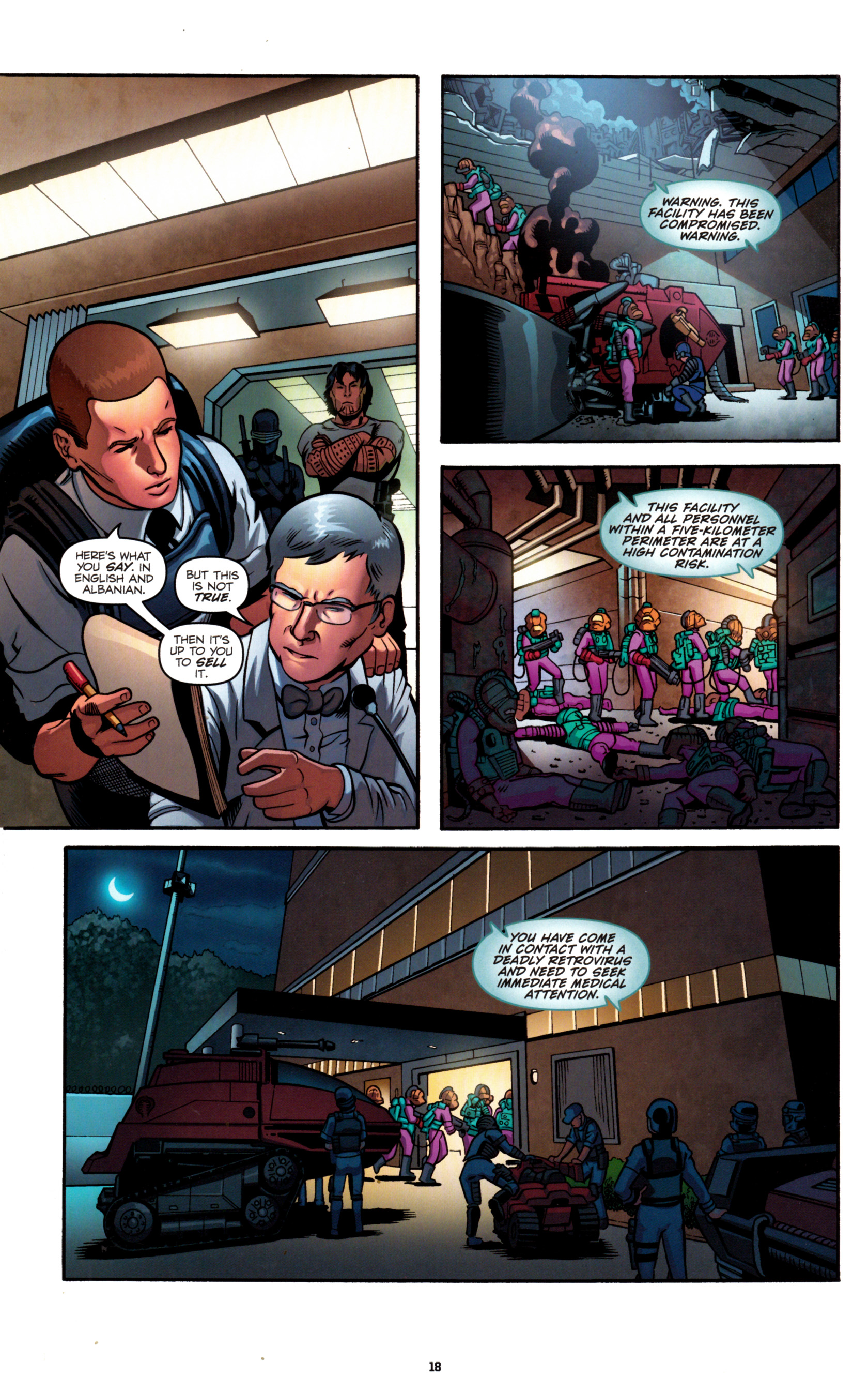 Read online G.I. Joe: Snake Eyes comic -  Issue #8 - 21