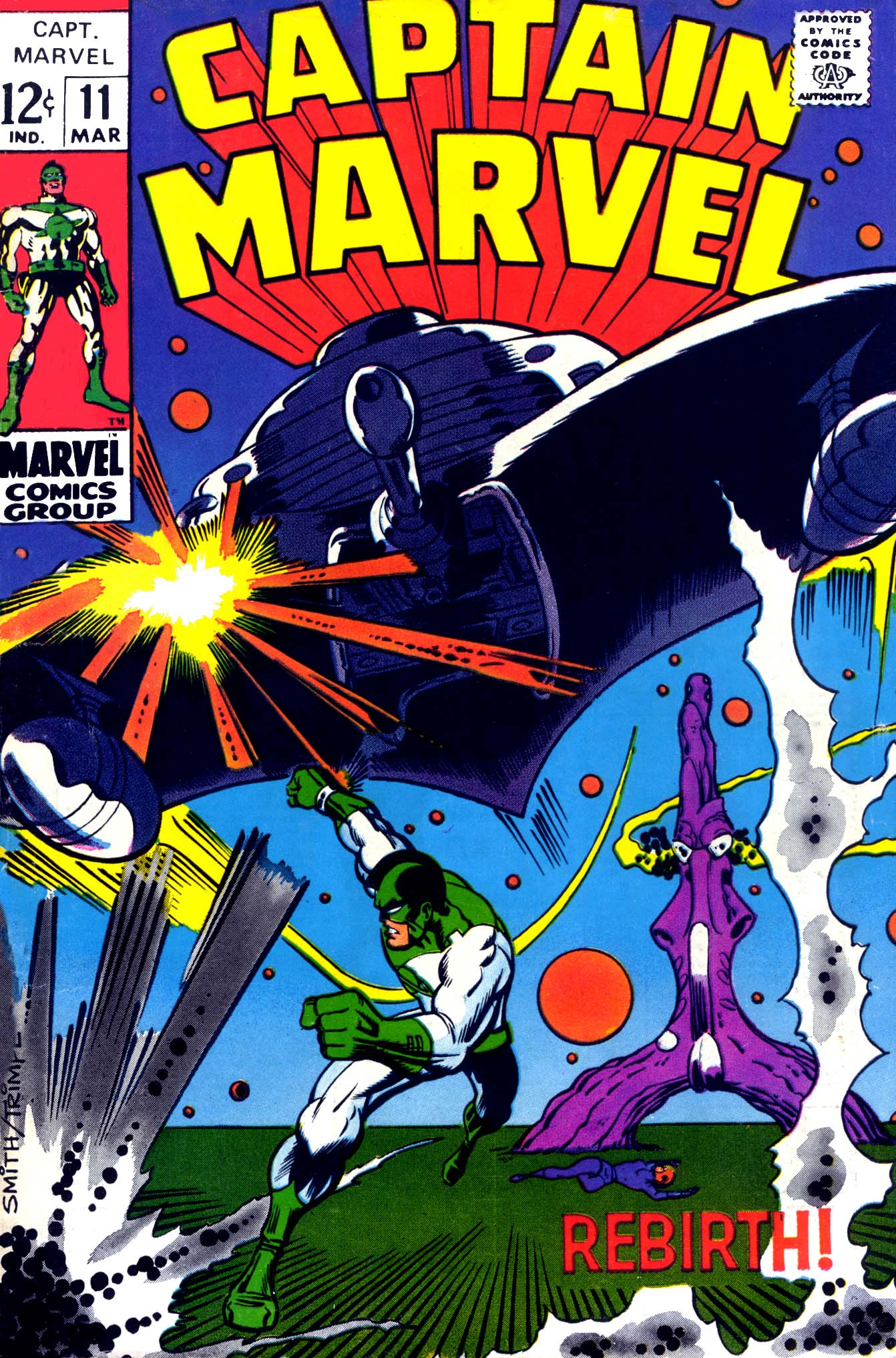 Captain Marvel (1968) 11 Page 1