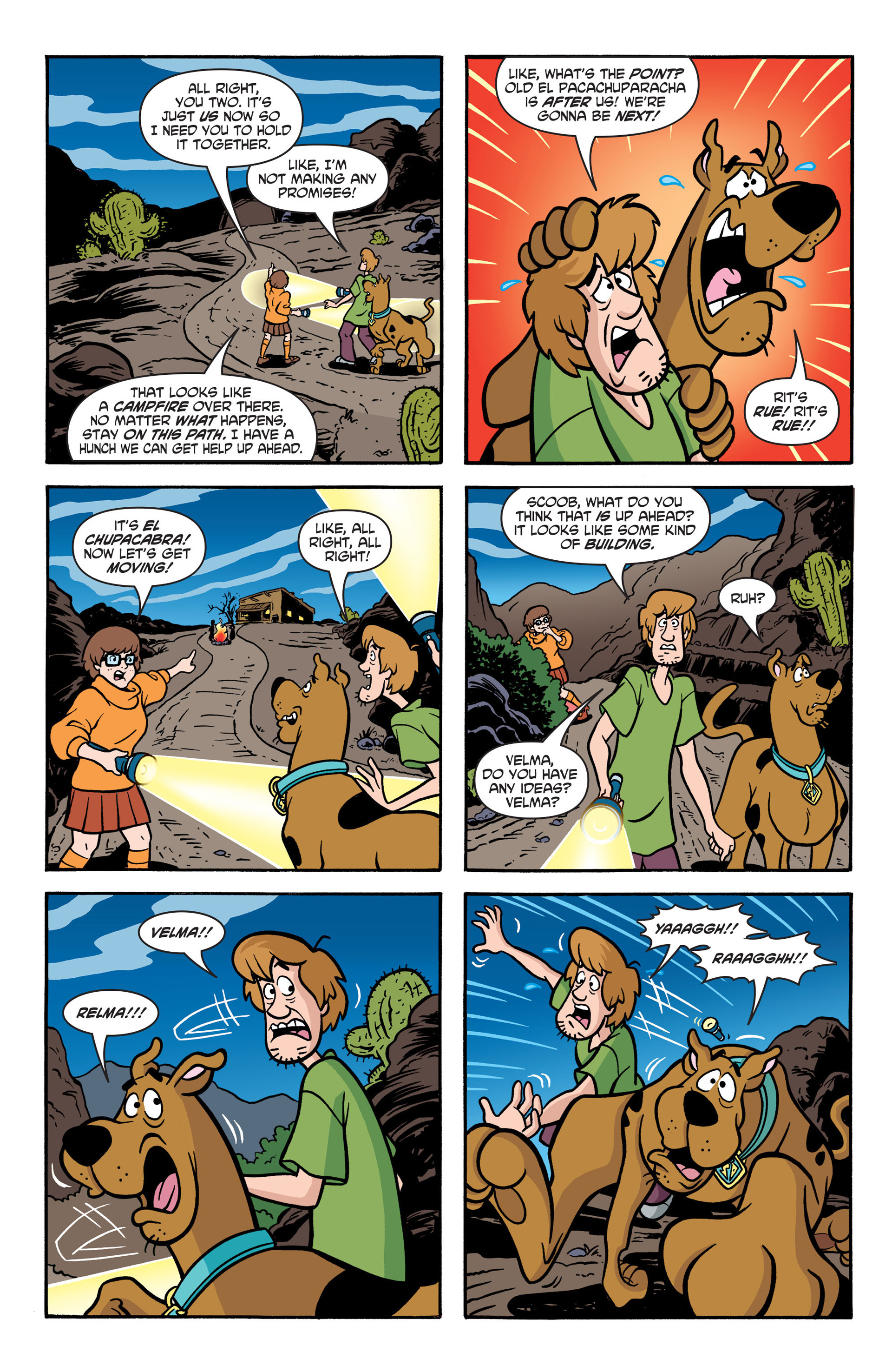 Read online Scooby-Doo: Where Are You? comic -  Issue #41 - 21