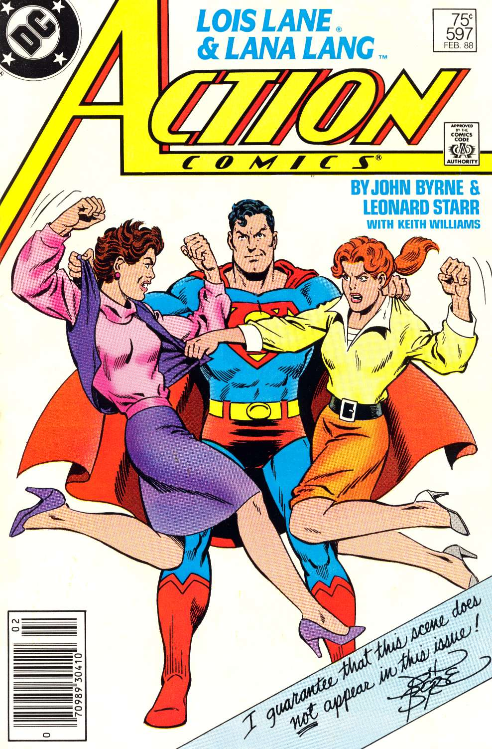 Read online Action Comics (1938) comic -  Issue #597 - 1