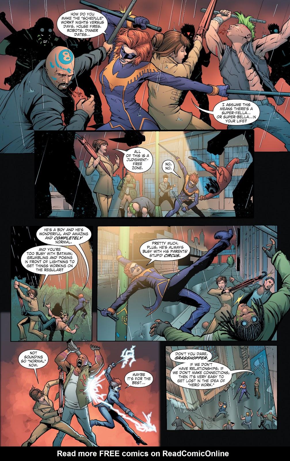 Read online Smallville Season 11 [II] comic -  Issue # TPB 6 - 125