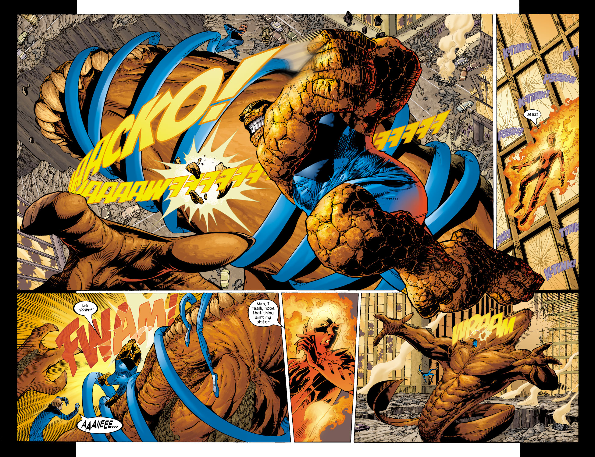 Read online Ultimate Fantastic Four (2004) comic -  Issue #5 - 9