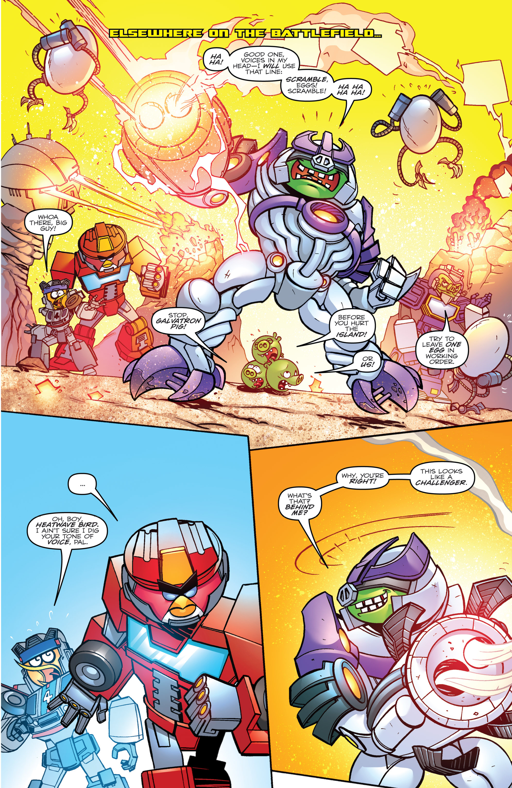 Read online Angry Birds Transformers comic -  Issue #3 - 10
