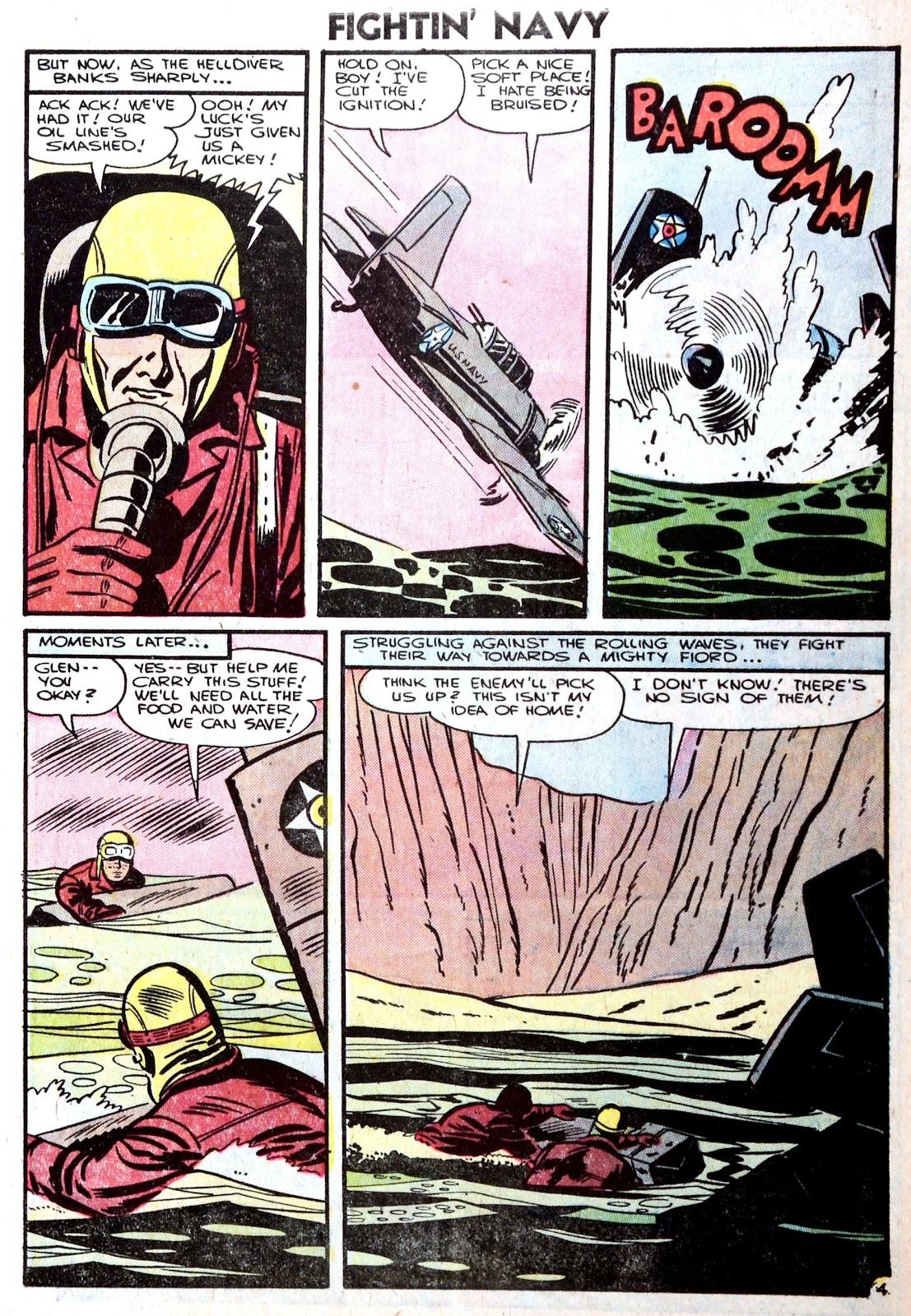 Read online Fightin' Navy comic -  Issue #75 - 7