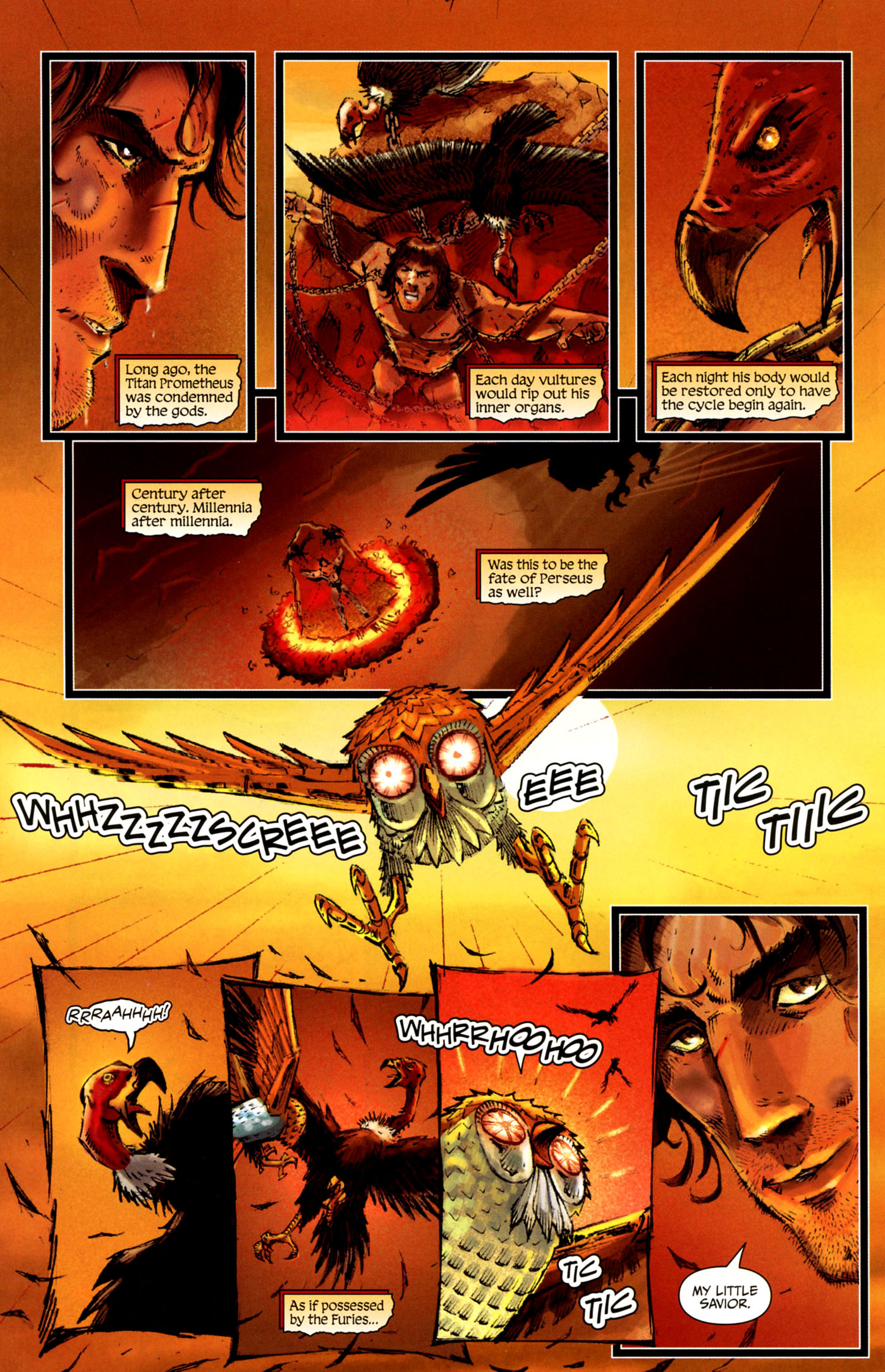Read online Wrath of the Titans comic -  Issue #4 - 9
