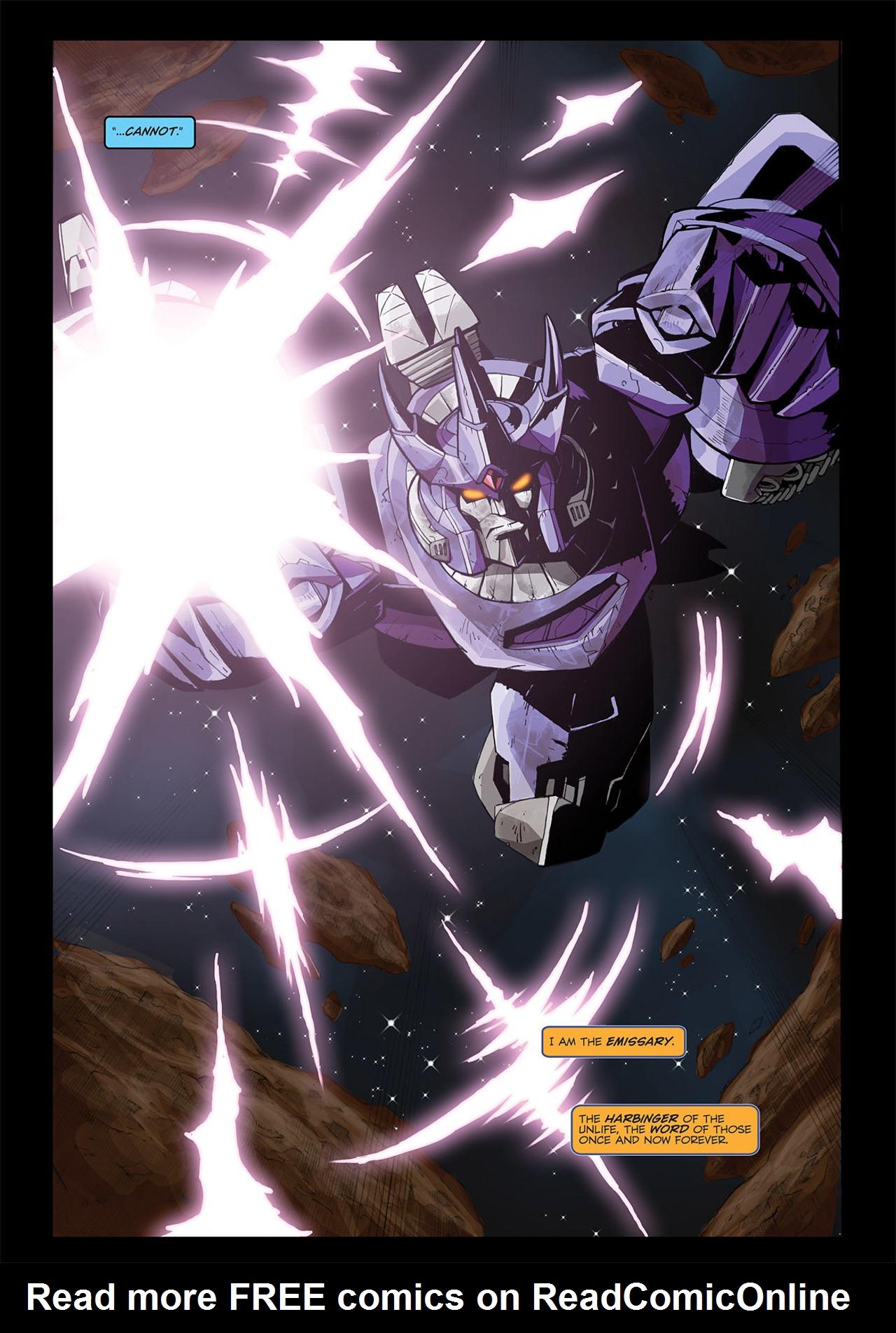 Read online Transformers Spotlight: Galvatron comic -  Issue # Full - 5