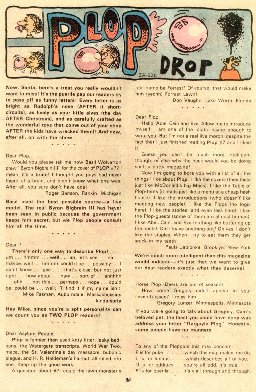 Read online Plop! comic -  Issue #10 - 24