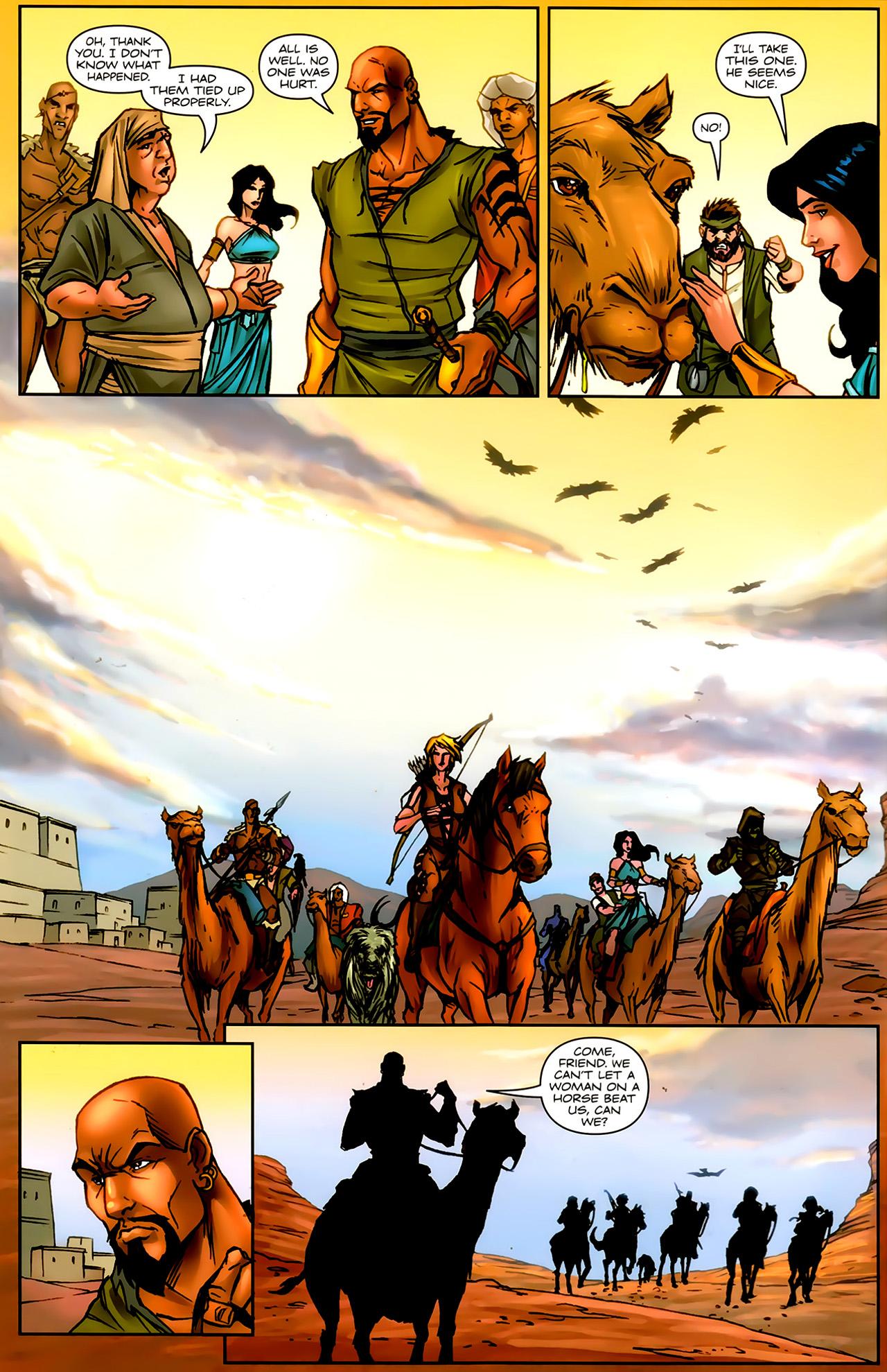 Read online 1001 Arabian Nights: The Adventures of Sinbad comic -  Issue #9 - 8