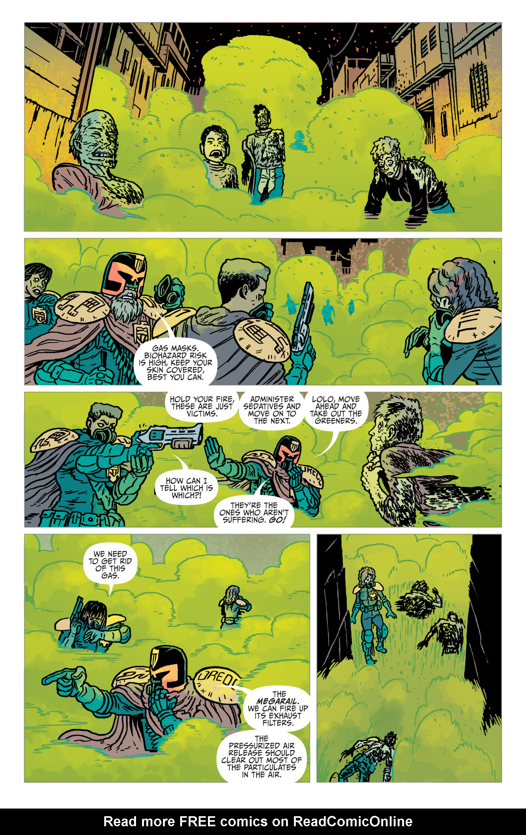 Read online Judge Dredd: The Blessed Earth comic -  Issue #2 - 20