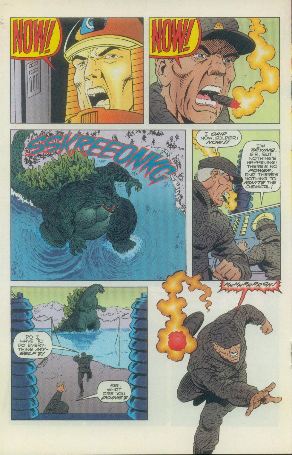 Godzilla (1995) Issue #2 #3 - English 19