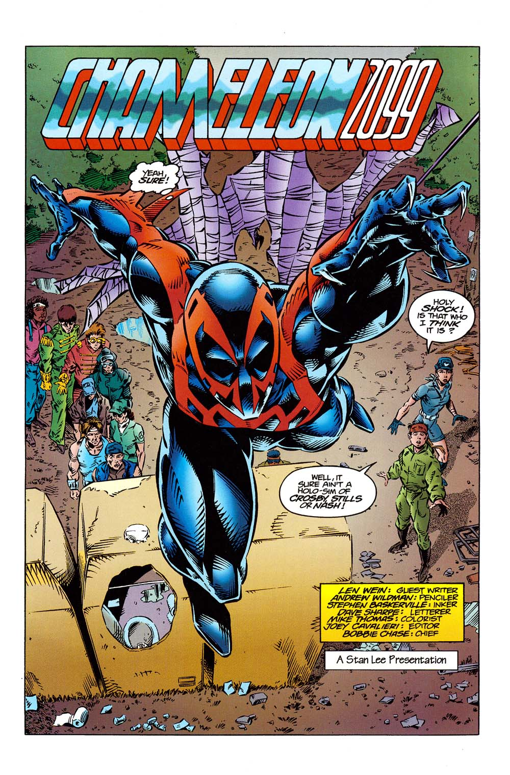 Read online 2099 Unlimited comic -  Issue #10 - 4