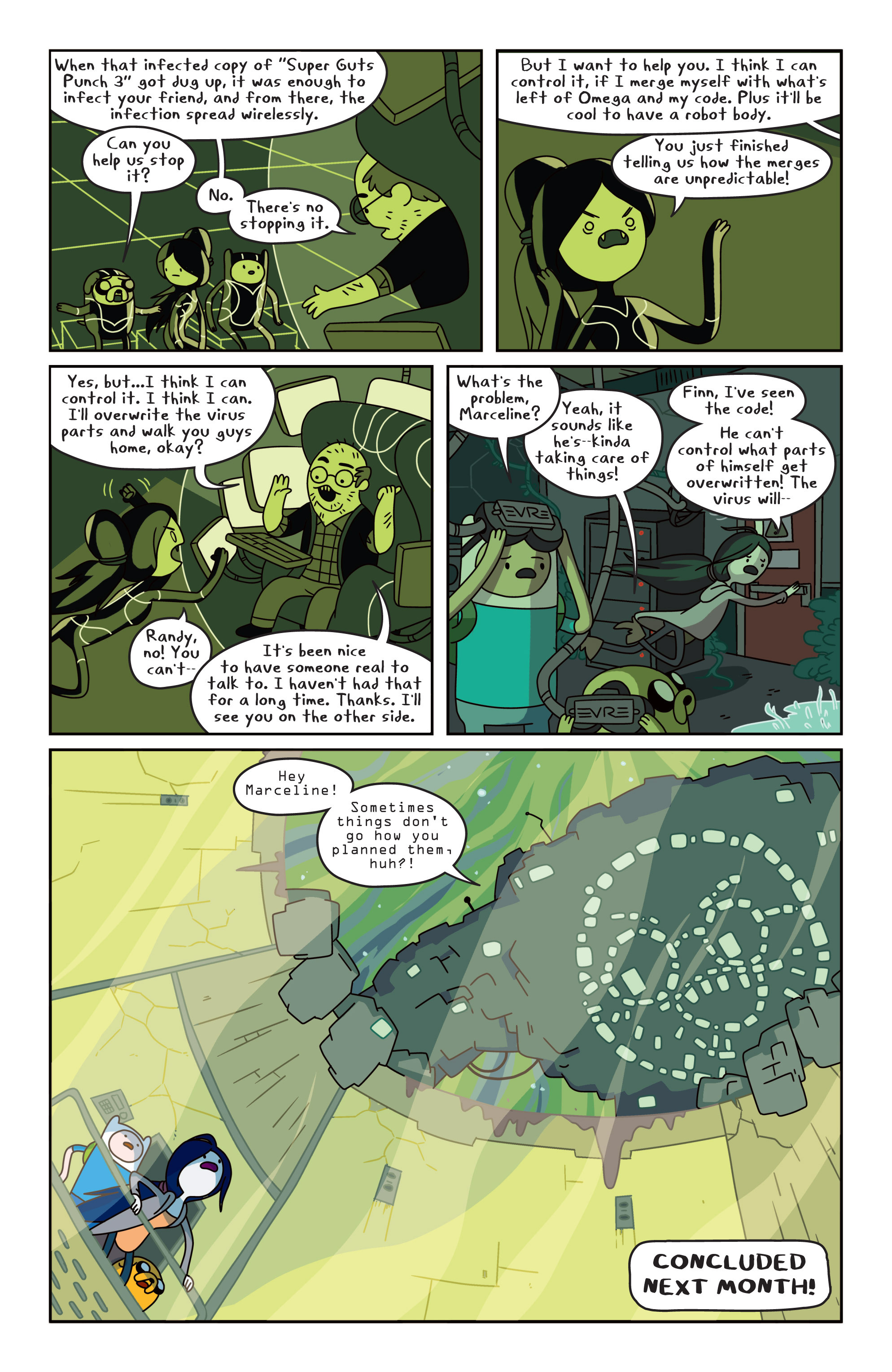 Read online Adventure Time comic -  Issue #13 - 21