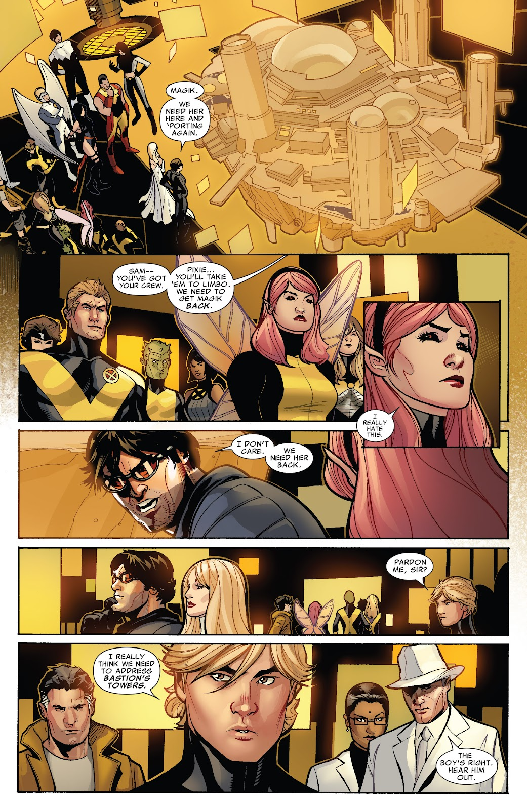 Read online X-Men: Second Coming comic -  Issue # _TPB (Part 2) - 49