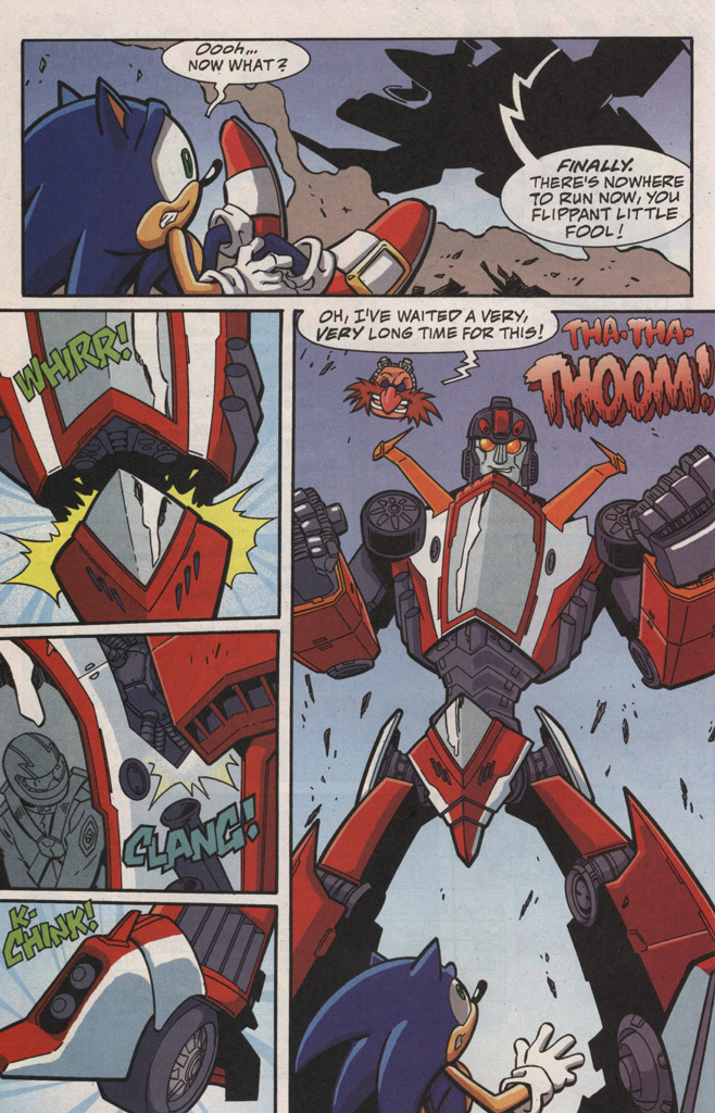 Read online Sonic X comic -  Issue #20 - 24