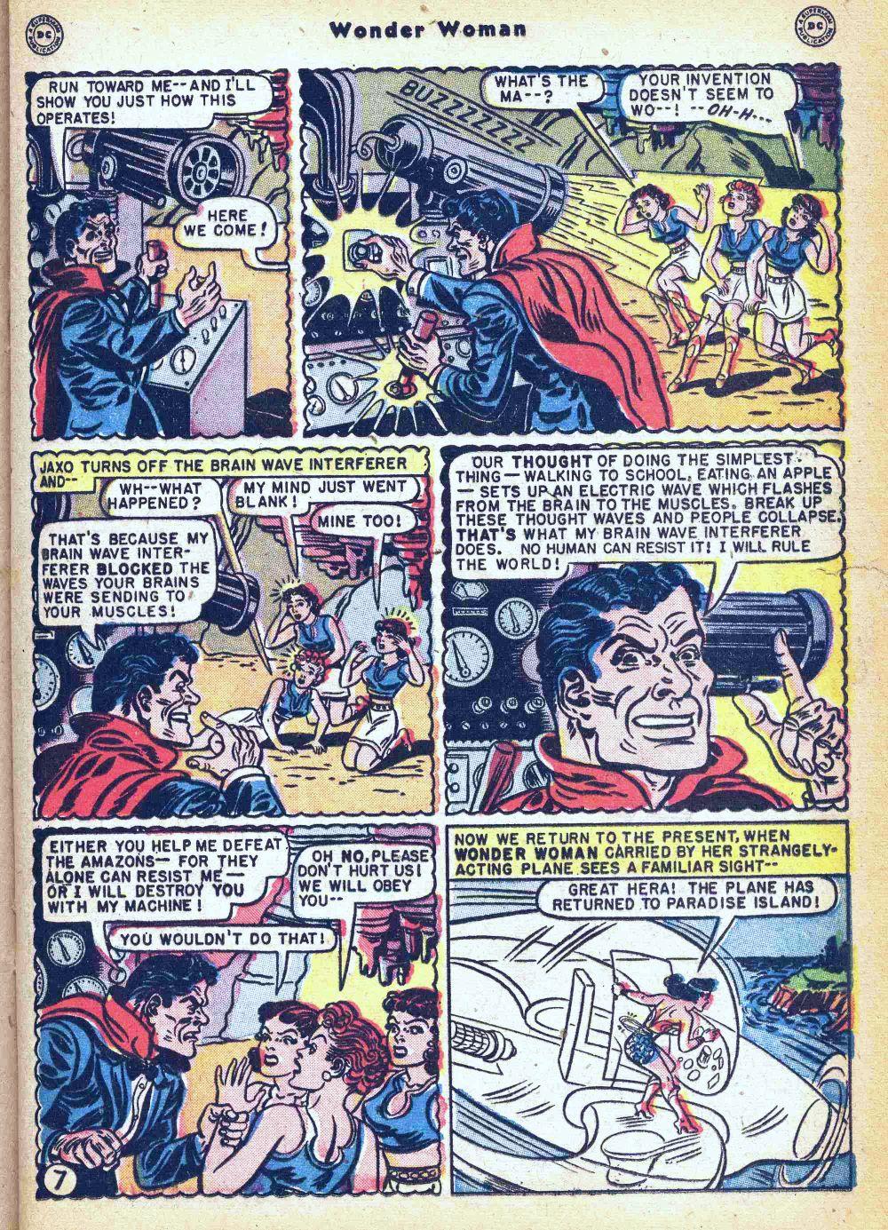 Read online Wonder Woman (1942) comic -  Issue #35 - 23