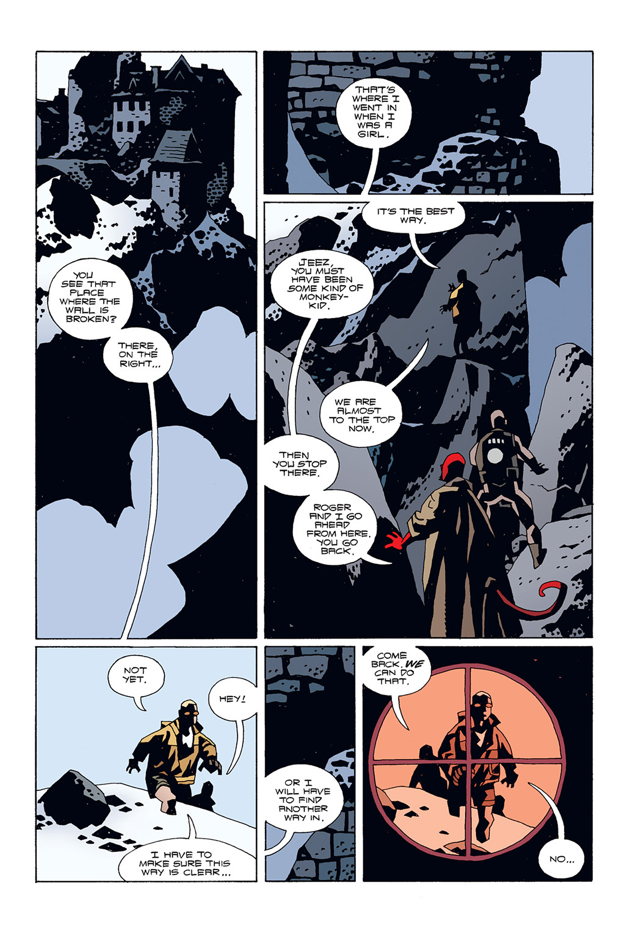 Read online Hellboy: Conqueror Worm comic -  Issue #1 - 24