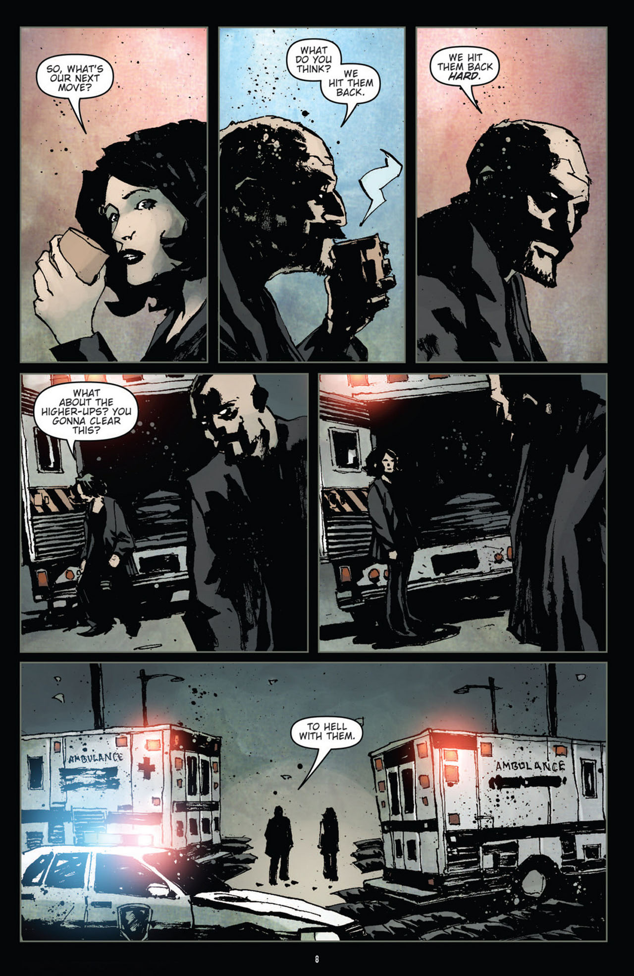 Read online 30 Days of Night (2011) comic -  Issue #10 - 9