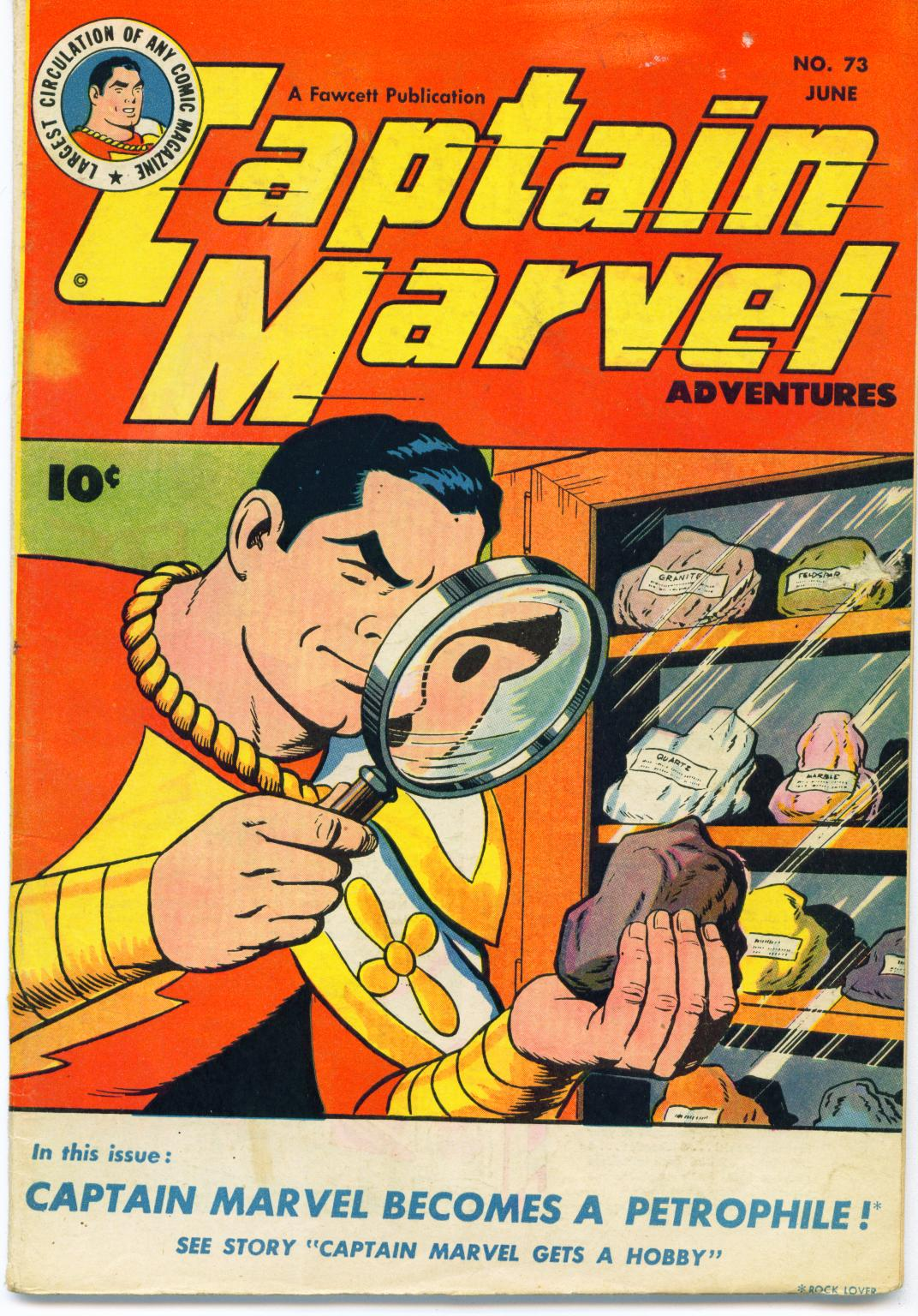 Captain Marvel Adventures issue 73 - Page 1