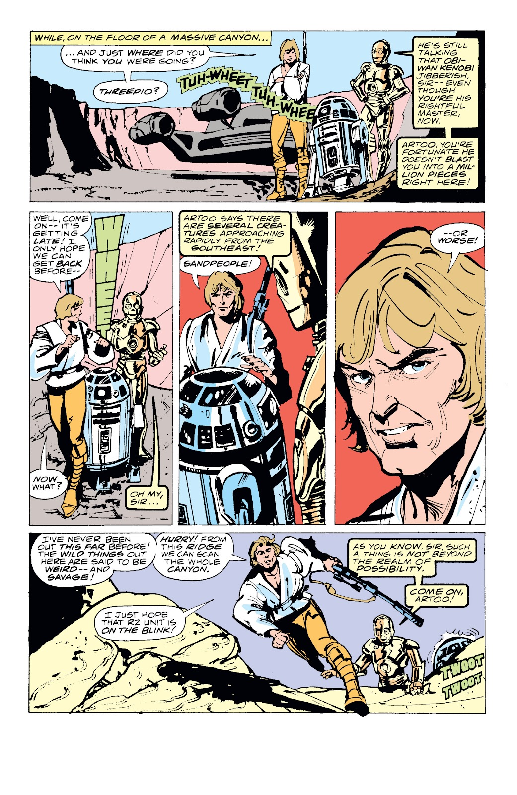 Read online Star Wars Legends: The Original Marvel Years - Epic Collection comic -  Issue # TPB 1 (Part 1) - 20