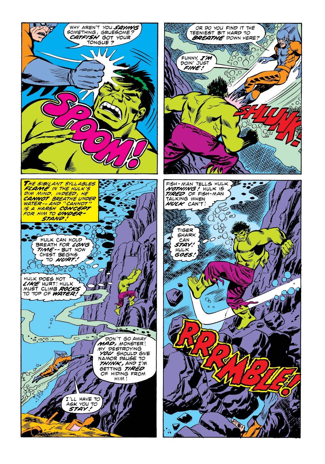 Read online Marvel Masterworks: The Incredible Hulk comic -  Issue # TPB 9 (Part 1) - 87