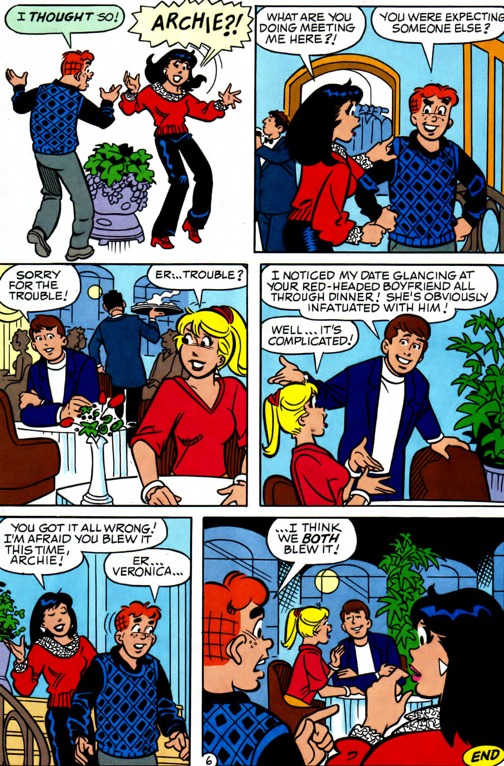 Read online Archie (1960) comic -  Issue #562 - 7