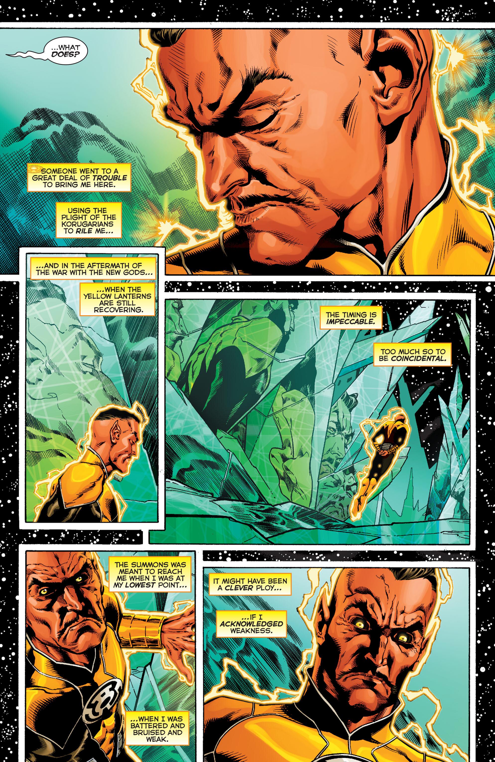 Read online Sinestro comic -  Issue #9 - 8