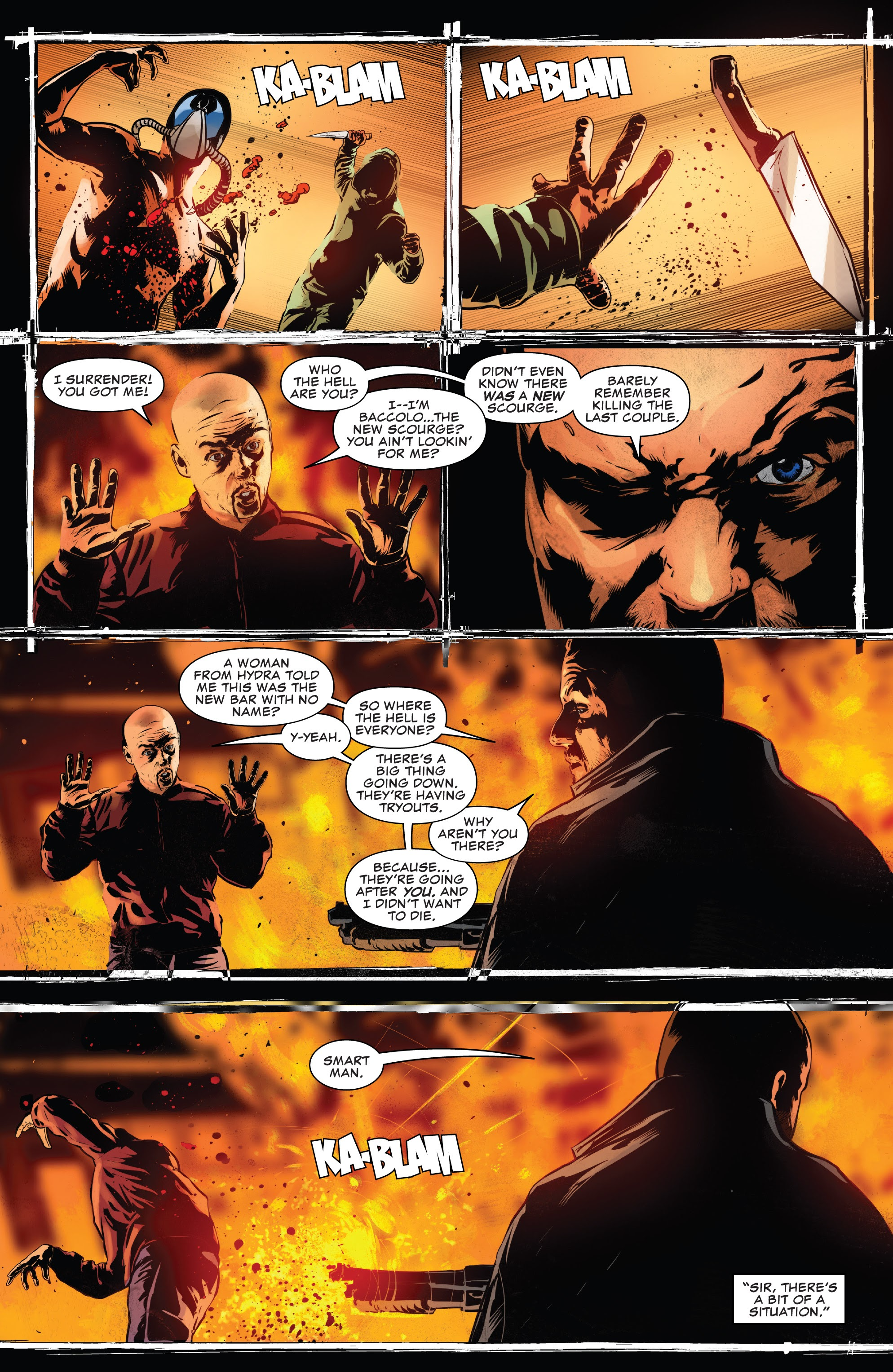 Read online The Punisher (2018) comic -  Issue #13 - 21