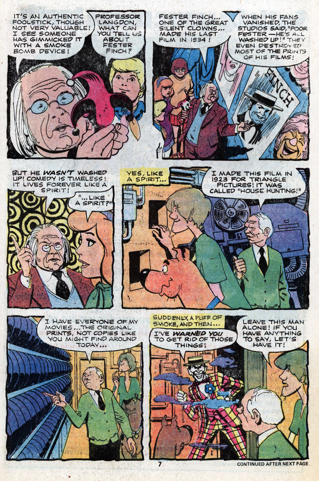 Read online Scooby-Doo (1977) comic -  Issue #6 - 9