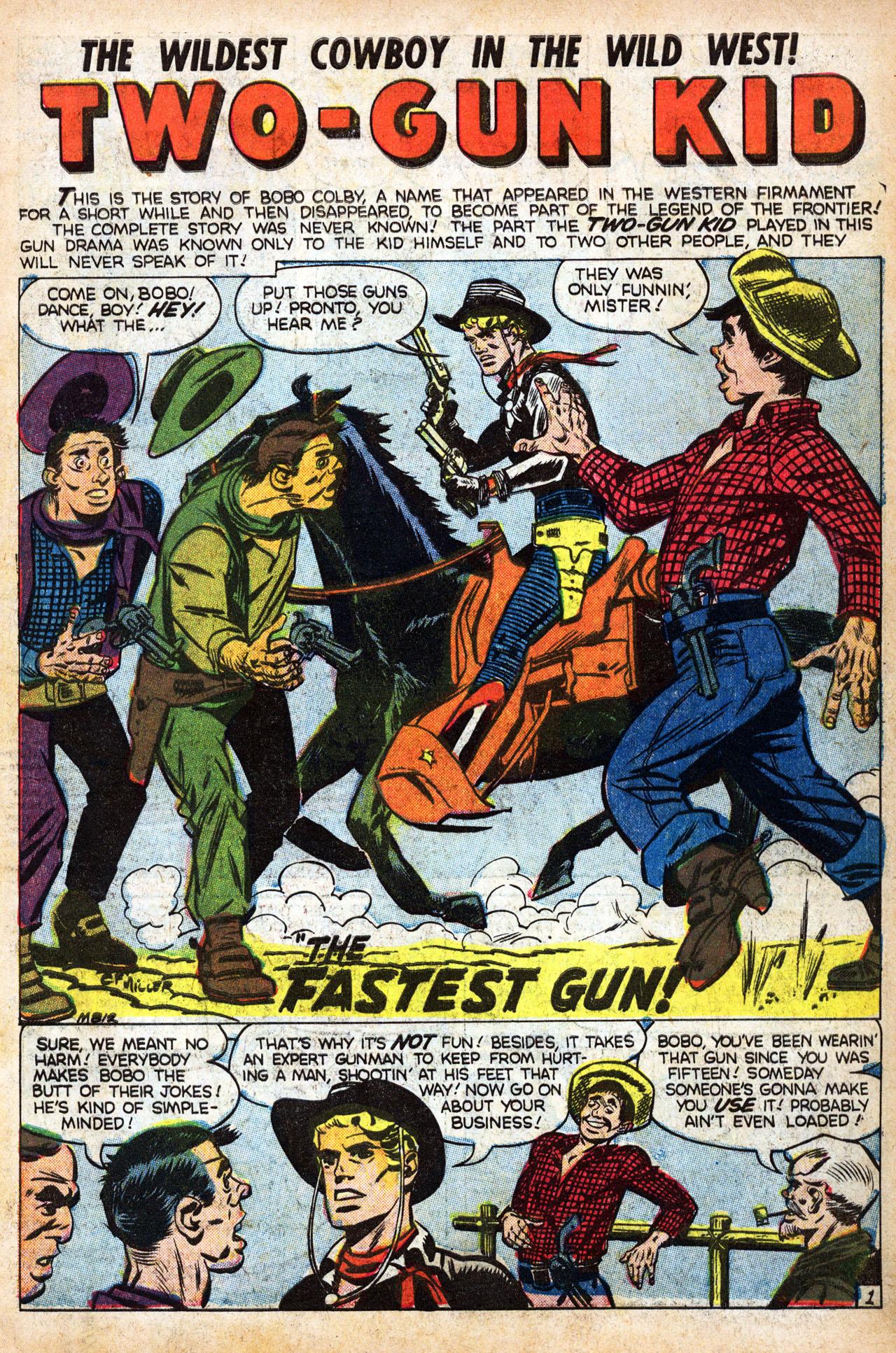 Read online Two-Gun Kid comic -  Issue #39 - 3