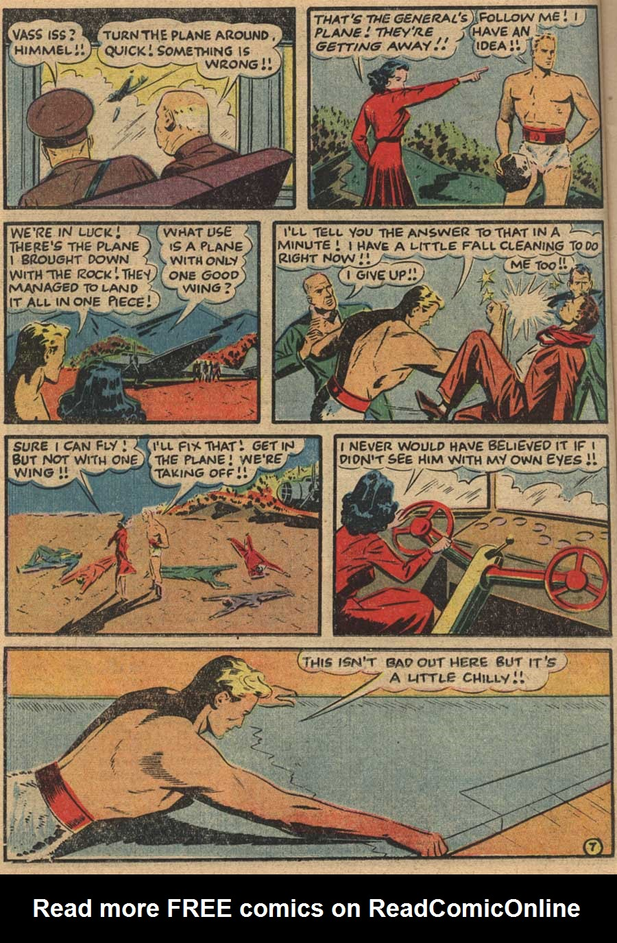 Blue Ribbon Comics (1939) issue 7 - Page 22