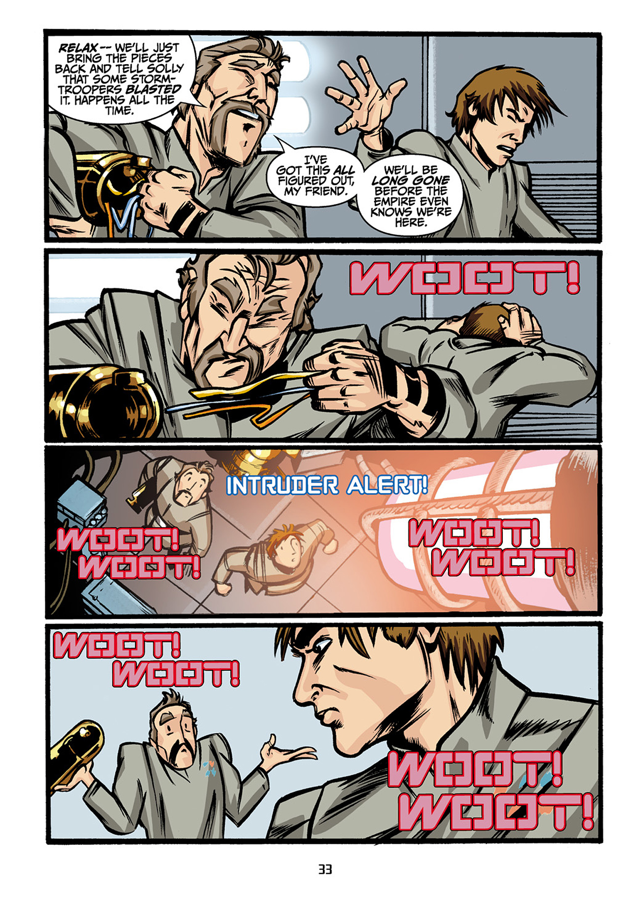 Read online Star Wars Omnibus comic -  Issue # Vol. 33 - 35