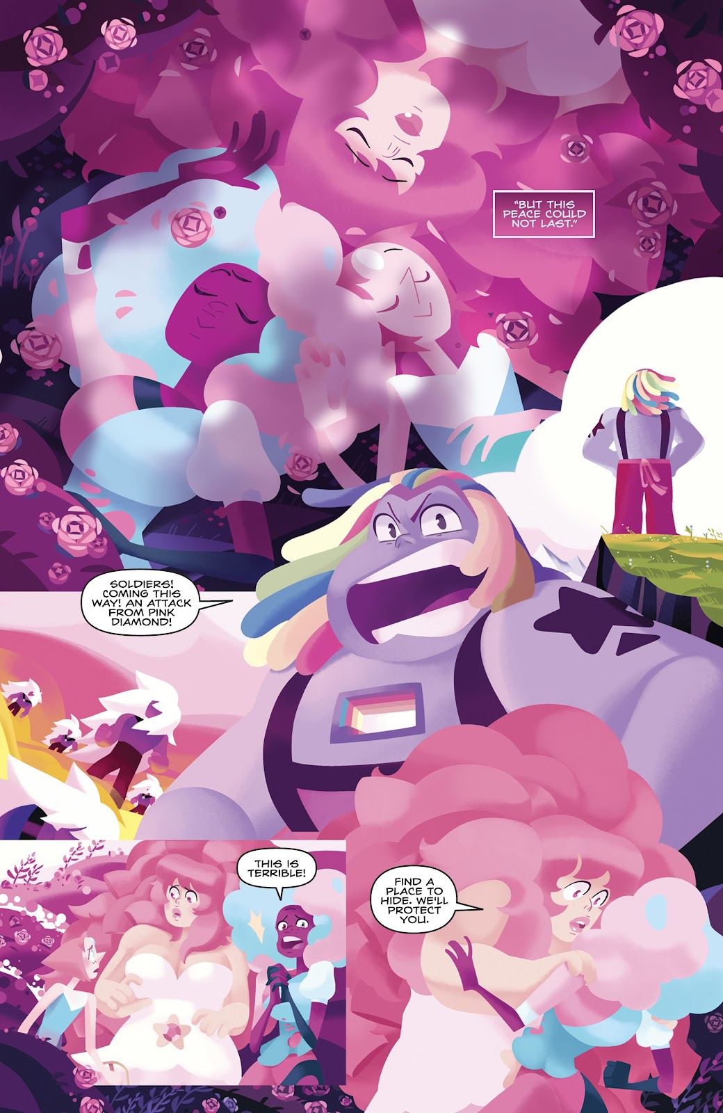 Read online Steven Universe: Fusion Frenzy comic -  Issue # Full - 13