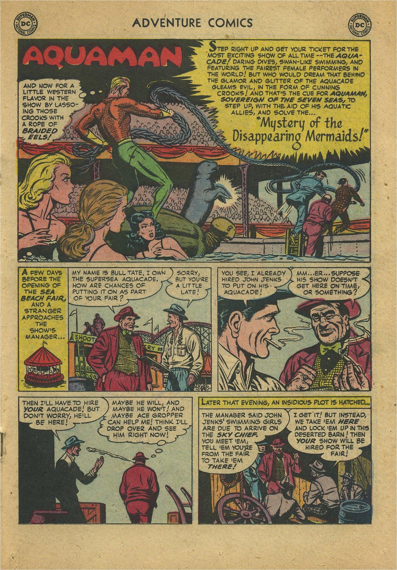 Read online Adventure Comics (1938) comic -  Issue #171 - 23