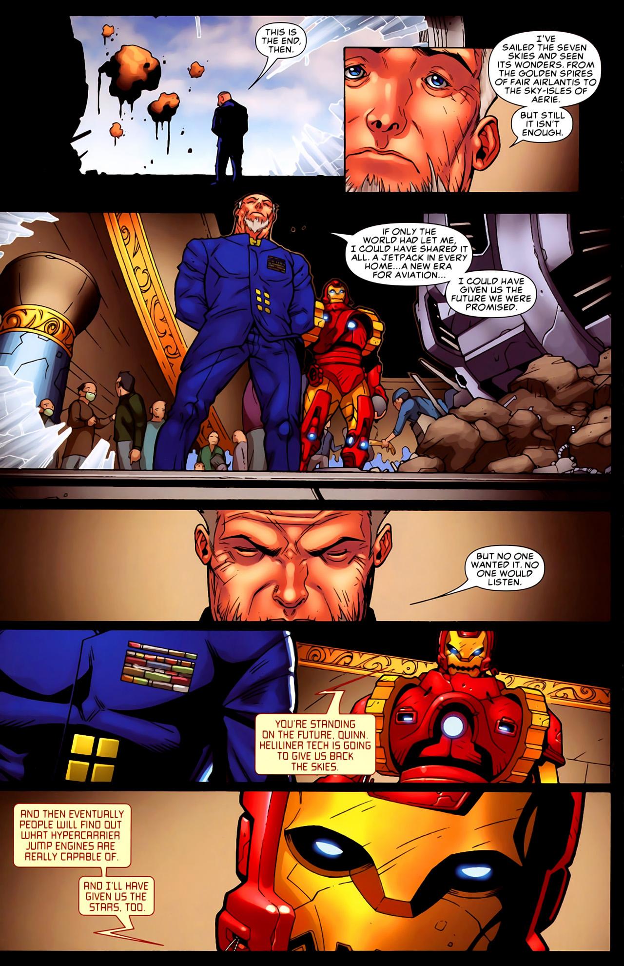 Read online Astonishing Tales (2009) comic -  Issue #6 - 17