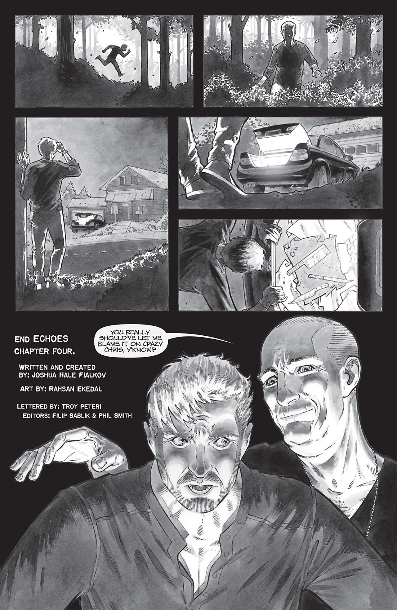 Read online Echoes comic -  Issue # TPB - 108
