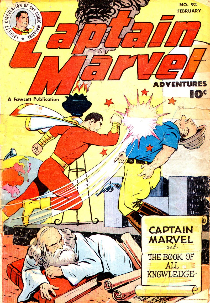 Captain Marvel Adventures issue 93 - Page 1